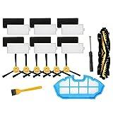 Piezas de repuesto para limpiador de repuesto para EcoVacs Deebot N79, N79S, N79SE, N79W, N79W, N79W, Deebot 500 piezas de limpieza del hogar Accesorios de vacío