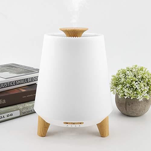 Difusor de Aceite Esencial de WiFi, Difusor de aromaterapia Inteligente de 300 ml, Difusor ultrasónico y humidificador con 7 Luces LED para un Ambiente Relajante en el Dormitorio y la Oficina(EU)