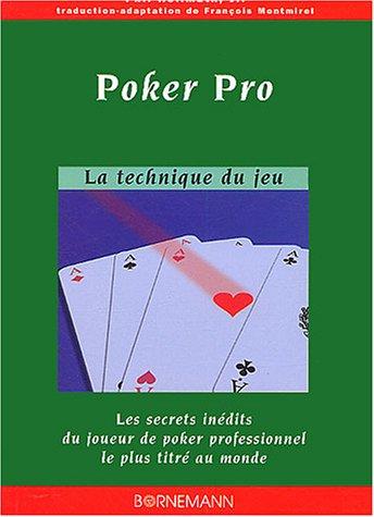 Smir - 17360 - Livre - Poker Pro la technique du jeu par Jr. Hellmuth