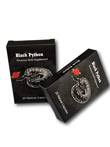 Black Python Premium Herb Energy En…