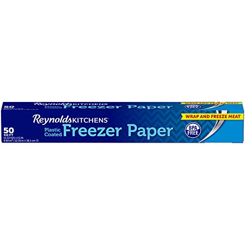Reynolds Reynolds Kitchens Freezer Paper - 50 Square Foot Roll, White