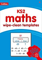 KS2 wipe-clean maths templates (Collins)