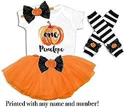 Baby Girl Pumpkin Birthday Outfit Girls Pumpkin Patch Birthday Outfit Fall Birthday Party Outfit Girl's Pumpkin Shirt Personalized Pumpkin