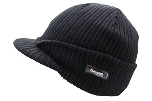 VIZ - Bonnet - Homme Noir Noir One Size Fits Most