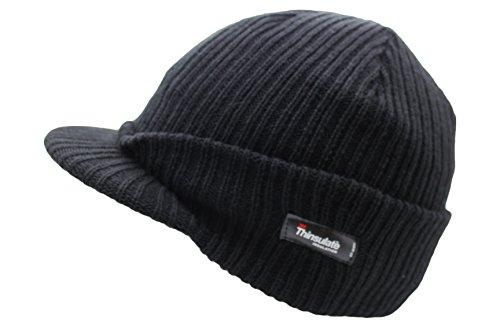 VIZ - Bonnet - Homme Noir Noir One Size Fits Most