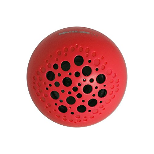 SoundLogic XT Rechargeable Wireless Bluetooth Portable Ball Speaker, Red
