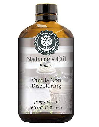 Vanilla Non Discoloring Fragrance Oil (60ml) For Diffusers, Soap Making, Candles, Lotion, Home Scents, Linen Spray, Bath Bombs, Slime