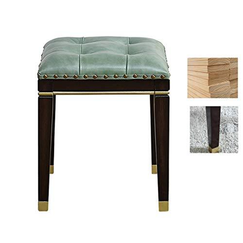 Krukken massief hout make-up slaapkamer dressoir stoel woonkamer bank comfortabele schoen veranderen, eiken benen