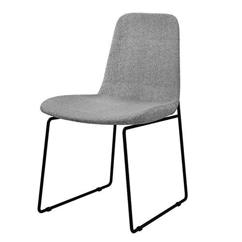 LZRDZSW Asiento Plegable y portátil Franela, Puede Llevar 250Kg, se Utiliza for Sillas de Comedor, sillas de la recepción del Hotel, hogar del Arte de Hierro sillas de Comedor