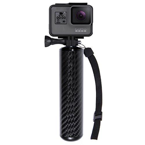 """SANDMARC Carbon Grip - Floating Waterproof Handle for GoPro Hero 6, Hero 5, 4, Session, Black, Silver, Hero+ LCD, 3+, 3, 2, HD and 1/4"""" Cameras"""