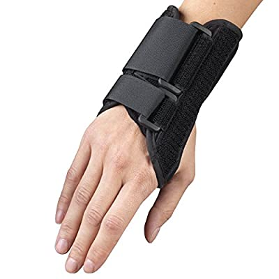 OTC Wrist Splint, Petite or Youth Size Support Brace, X-Small, 6 Inch (Right Hand)