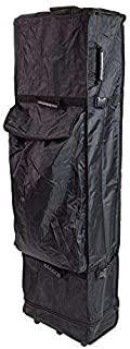 Vispronet - Universal Heavy Duty 10x20 Wheeled Canopy Case - Easy Packing and Unpacking, Light Weight Bag, Handle and Trolley Wheels Allows Easy Transportation