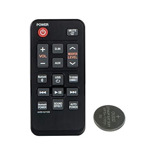 Mando a Distancia de Repuesto para Samsung AH59-02710A HW-JM25 HW-J250 HW-J250/ZA HWJM25/ZA con batería CR2032