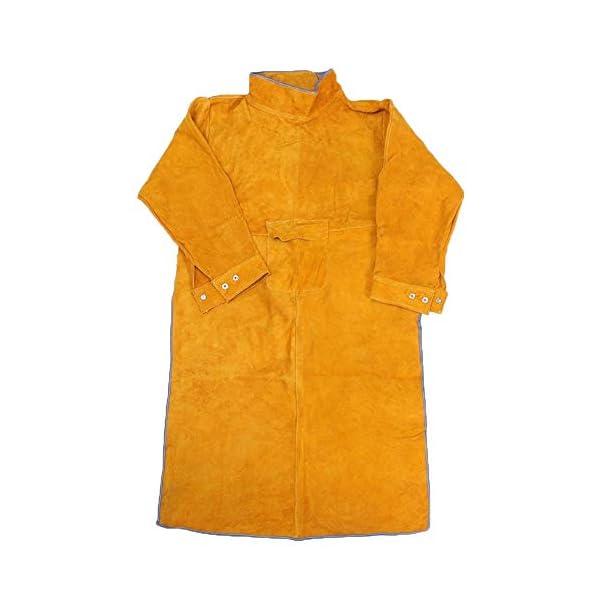 Jewboer Leather Welding Apron Jacket 3
