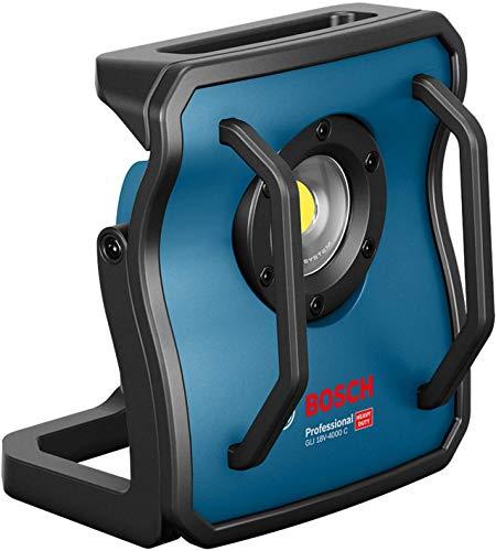 Bosch Professional 18V System Akku Baustrahler GLI 18V-4000 C (ohne Akkus und Ladegerät, Leuchtstärke: 4.000 lm, im Karton)