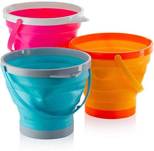 Top Race Folding Buckets