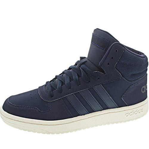 adidas Herren HOOPS 2.0 MID Basketballschuh, Legend Ink Legend Ink Core Black, 41 1/3 EU
