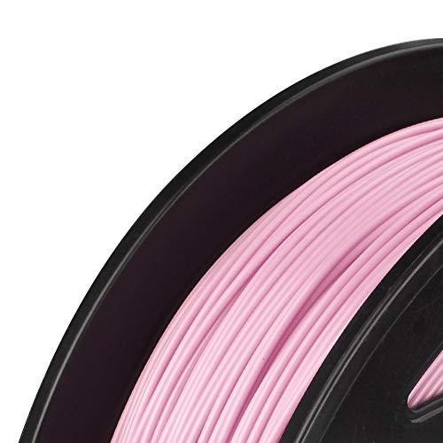 Fucaiqian CCH-YS Materials, 1pc PLA 3D Printer Filament 1.75mm 1KG Spool 3D en Plastique Matériel d'impression Compris Échantillon Silk & MarbleFilament Rose (Color : Silk PLA Pink)