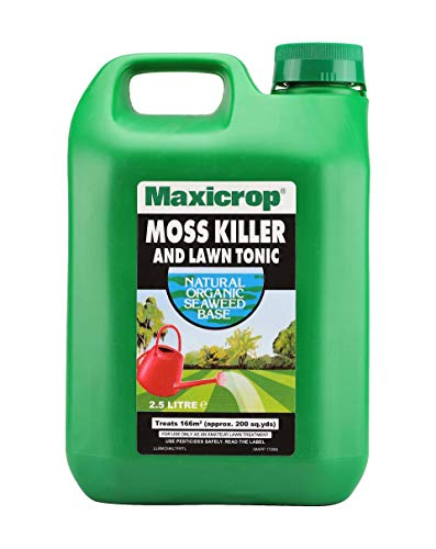 Maxicrop 86600259 Moss Killer & Lawn Tonic, Natural Seaweed Extract Plus...