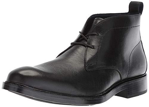 Cole Haan Men's Kennedy Grand Chukka Waterproof Boot, Black wp, 10 M US