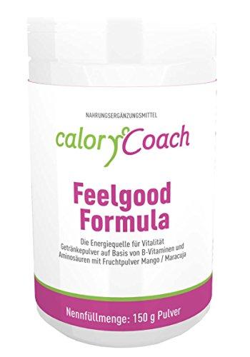CaloryCoach Feelgood Formula Getränkepulver mit B-Vitaminen und Aminosäuren