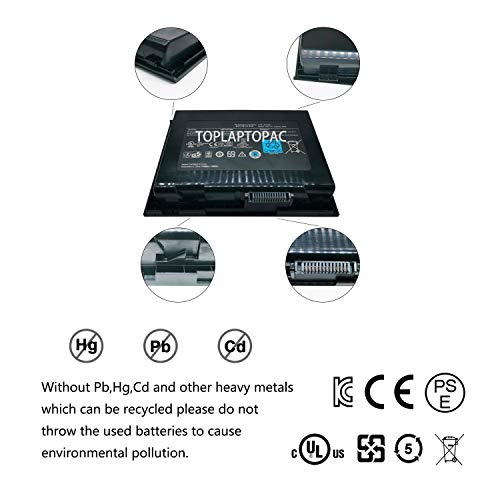 BTYAVG1 New 14.8V 96Wh Laptop Notebook Battery Compatible with Dell Alienware M18x R1 R2 Series