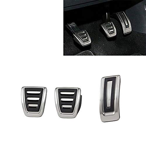 Aluminium Pedalkappen Für Golf 7 Bremspedal VII GTi R MK7 A7 Sportwagen Alltrack Var Polo V Passat VIII LHD (MT)