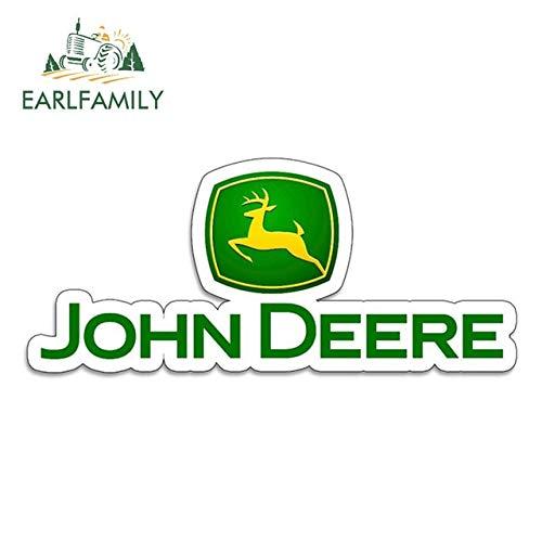 RSZHHL Sticker de Carro 13 cm x 5,6 cm Pegatinas de Vinilo para John Beere Tractor agrícola Gator Agricultura automóvil Motocicleta Coche Tuning Pegatinas Laterales calcomanía DivertidaEstilo A