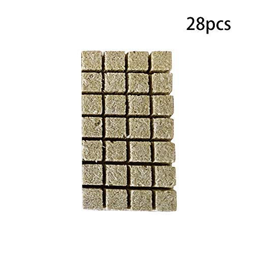 ckwool Cubes Hydroponic Grow Compress Base Planting ocks Media Multifunction Agricultural Soilless Culture Greenhouse Ventilative Garden Mini Practical(1 Pouce 100pcs)