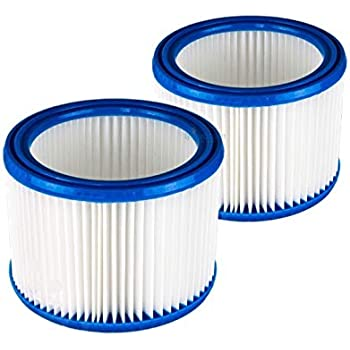 2x Filtro de cartucho mojado y seco Nilfisk Aspirador Multi 20-30 (- CR / INOX/T/T Inox/T VSC INOX) alternativa a la original 107402338 de Microsafe: Amazon.es: Bricolaje y herramientas