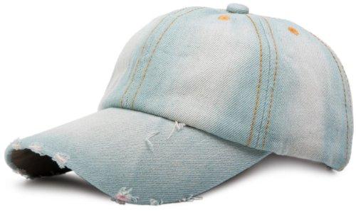 styleBREAKER gorra vaquera en apariencia vintage, gorra de béisbol, ajustable 04023026