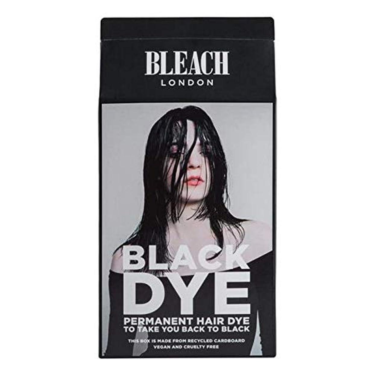 分離冷酷な中庭[Bleach London ] 漂白ロンドン黒色染料キット - Bleach London Black Dye Kit [並行輸入品]