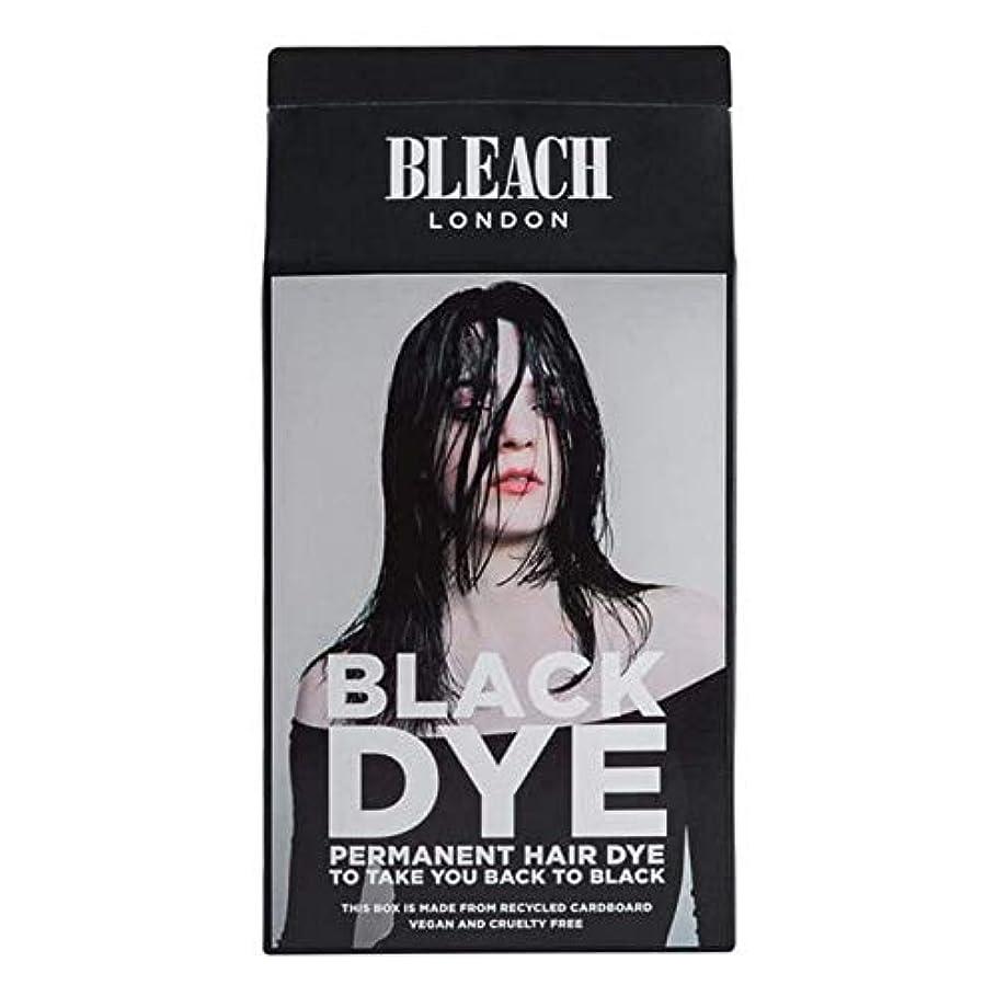 置換飾り羽芸術的[Bleach London ] 漂白ロンドン黒色染料キット - Bleach London Black Dye Kit [並行輸入品]