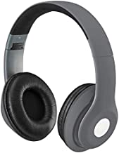 Bluetooth Over-The-Ear Headphones with Microphone (Matte Gray)