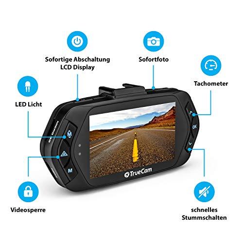 TrueCam A7s GPS Professionelle Dashcam Autokamera 2K Super HD - 5