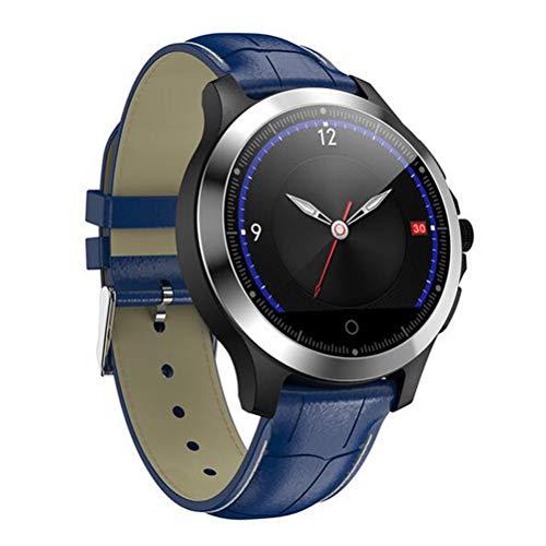 Boyuan W8 Smartwatch EKG + PPG Armbanduhr Schrittzähler IP67 wasserdichte Smart Watch Männer Frauen Bluetooth Smart Band Sportuhr,Blau
