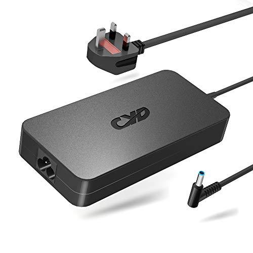 QYD 120w 19.5V 6.15A PowerFast Replacement for Laptop-Charger HP Envy 15-Cc023cl 15-N290sa 15-N059sf 17-AB000 732811-002 710415-001 Hstnn-Ca25 A120a07dh,9.35Ft Laptop-Ladekabel-Power-Ac-Adapter-Cord