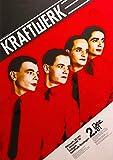 Reproduktion Kraftwerk - Stuttgart 1981 Poster - 42 x 59,4