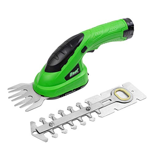 East 2 in 1 Cordless Grass Shears, Hedge Trimmers Cordless...