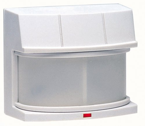Heath/Zenith HZ-5316-WH 240-Degree Replacement Motion Sensor With Patented DualBrite Dusk-To-Dawn Timer, Upto 100 Feet Detection Range,120V, White Plastic