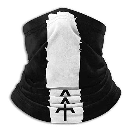 Appalachian Trail Blaze Marker Unisex Bufanda deportiva a prueba de viento Calentador de cuello al aire libre Bandana Balaclava Headwear Negro