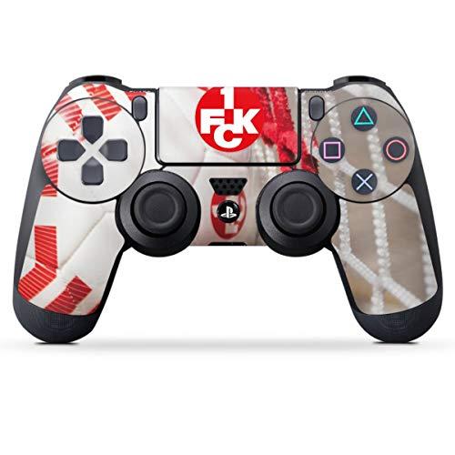 DeinDesign Skin kompatibel mit Sony Playstation 4 PS4 Controller Folie Sticker 1. FCK Tor 1. FC Kaiserslautern