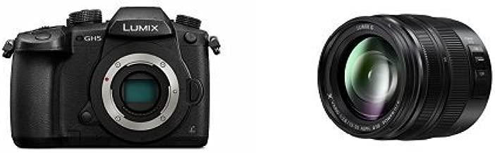 PANASONIC LUMIX GH5 Body 4K Mirrorless Camera with LUMIX G X VARIO II 12-35mm F2.8 Lens