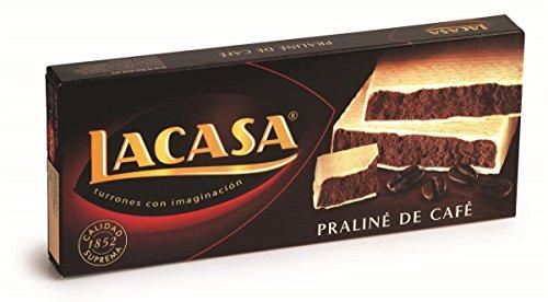 Lacasa - Turrón praliné de café estuche 225 g