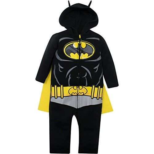 Justice League Batman Toddler Boys Hooded Costume