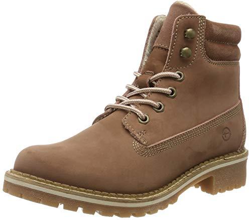 Tamaris Damen 1-1-25242-23 Combat Boots, Pink (Old Rose 517), 40 EU