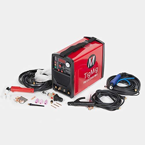 TIGMIG - TM233MIX - Soldador Inverter 3 en 1, multiproceso d