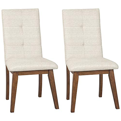Signature Design by Ashley Centiar Dining Room Chair, Stone