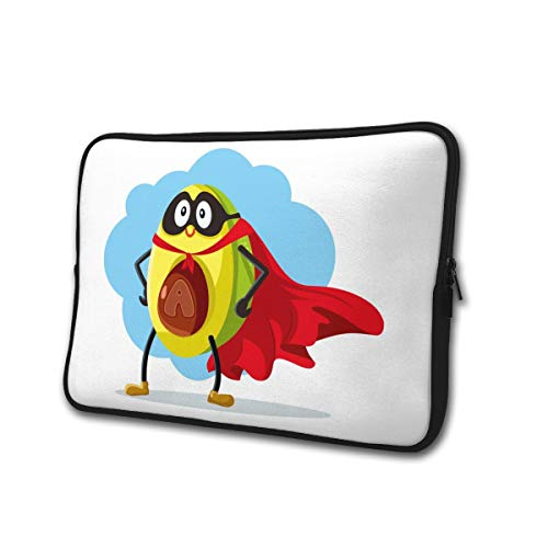 SWEET-YZ Laptop Sleeve Case Avocado Super Food Notebook Computer Cover Bag Compatible 13-15 Inch Laptop