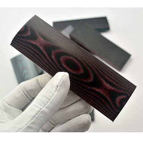 JAP768 2 stücke DIY K-Nife Griffmaterial Micarta Schaft Patch Space Board Für DIY Messer Griff Handwerk Liefert (Farbe : Type1 160x50x8mm)